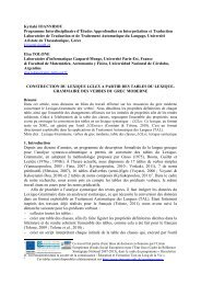 Kyriaki IOANNIDOU Programme Interdisciplinaire d'Études ...