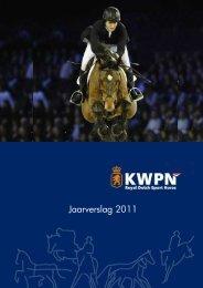 KWPN Jaarverslag 2011 - Mijn KWPN