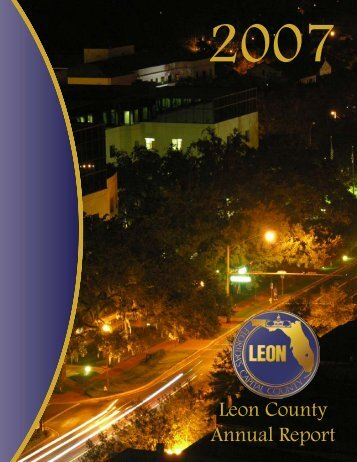 2007 Annual Report - Leon County