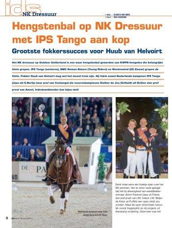Hengstenbal op NK Dressuur met IPS Tango aan kop - Mijn KWPN