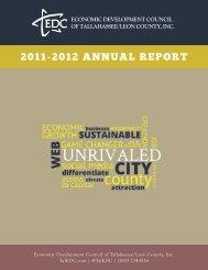 2012 Economic Development Annual Report - Leon County