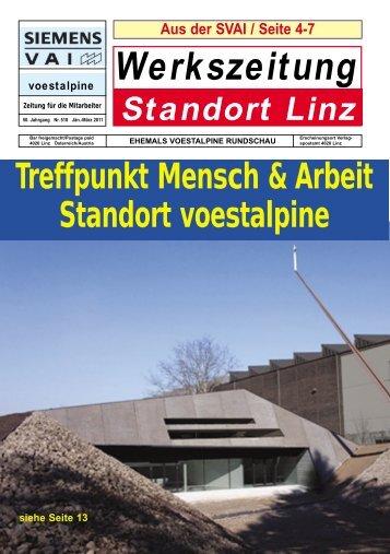 Standort Linz Werkszeitung - Wels-Land