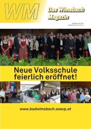 Neue Volksschule feierlich eröffnet! - Wels-Land