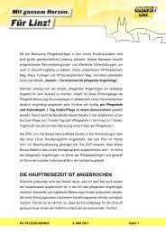 PK Pflege-Bonus - ÖVP Linz