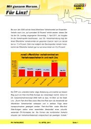 PK Entlastung durch PR - ÖVP Linz