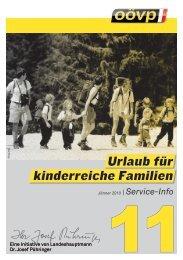 Urlaubszuschuss für kinderreiche Familien (Falter 11) - Wels-Land ...