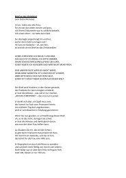 Brief an das Christkind (von Stefan Reincke) In Linz lebte eine alte ...