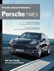Auf den Punkt. Porsche Zentrum Paderborn - Porsche Club ...