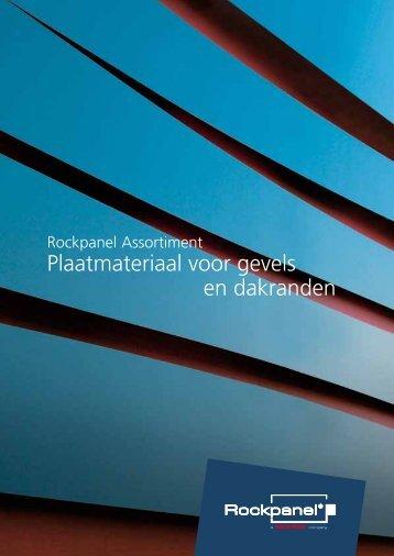 Plaatmateriaal voor gevels en dakranden - Proximedia