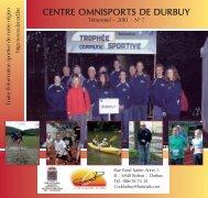 Gazette Octobre 2010 - Site officiel du Centre Omnisports de Durbuy