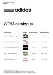 WOM catalogus - Proximedia
