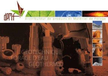 DPMF - Brochure PDF - Distributeur de Produits et Materiel de Forage