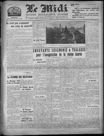 SOCIALISTE - Bibliothèque de Toulouse - Mairie de Toulouse