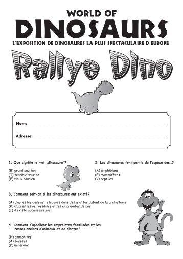 l'exposition de dinosaures la plus spectaculaire d' - HappyKid.ch