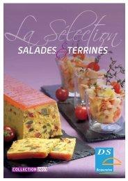 SaladeS TerrineS - Sirf - Disval surgelés