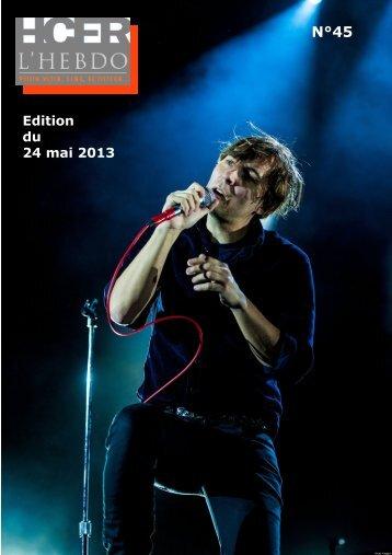 Edition du 24 mai 2013 - Homecinema Fr