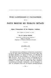 partie moyenne des terrains crétacés - Revue de géologie alpine