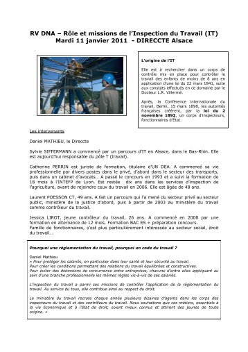 inspection du travail 210 quai de jemmapes paris 10