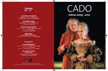 Saison 2009 - 2010 - Centre National de Création d'Orléans