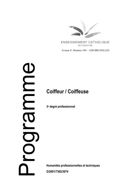 Coiffeur / Coiffeuse