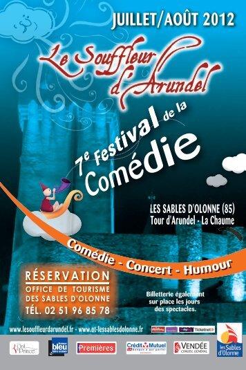 Programme 2012 - Le souffleur d'arundel