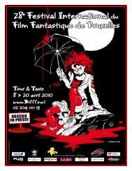 dossier de presse - Brussels International Fantastic Film Festival 2013