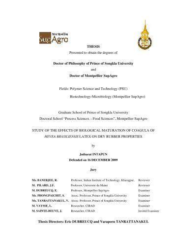 Usq phd thesis