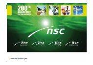 Voir Historique en PDF ci-joint - NSC Group