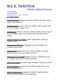 buffet rotisserie - Mer Traiteur - Page 2