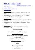 buffet rotisserie - Mer Traiteur - Page 3