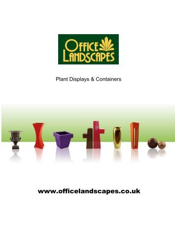 to view brochure - Office Landscapes