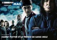 HARRY POTTER ET LE PRINCE dE sANg mêLé - Univers Freebox