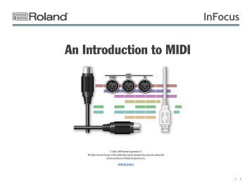 InFocus 01—An Introduction to MIDI - Roland