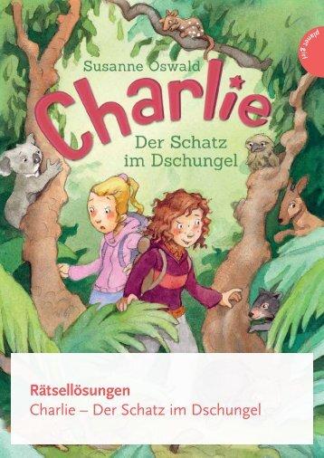 Auflösung der Rätsel - Thienemann Verlag