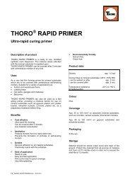 THORO RAPID PRIMER - PCI-Augsburg GmbH