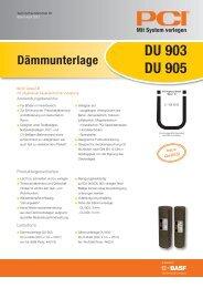 DU 903 DU 905 - PCI-Augsburg GmbH