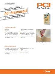 PCI Steinsiegel - PCI-Augsburg GmbH