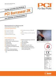 PCI Barraseal 2K - PCI-Augsburg GmbH
