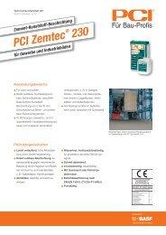 PCI Zemtec - PCI-Augsburg GmbH