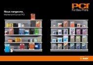 Nous rangeons. - PCI-Augsburg GmbH