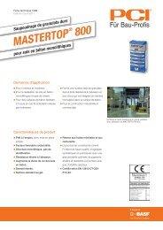 MASTERTOP - PCI-Augsburg GmbH
