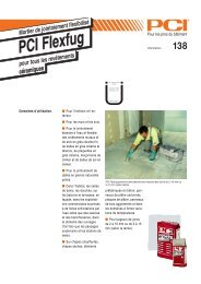 PCI Flexfu PCI Flexfug - PCI-Augsburg GmbH