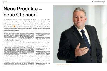 Neue Produkte ? neue Chancen - PCI-Augsburg GmbH