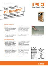 PCI Nanoflott - PCI-Augsburg GmbH