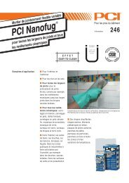 PCI Nanofug - PCI-Augsburg GmbH