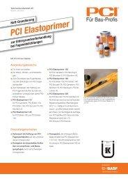 PCI Elastoprimer - PCI-Augsburg GmbH