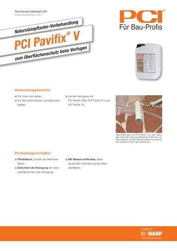 PCI Pavifix - PCI-Augsburg GmbH