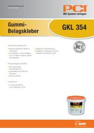 GKL 354 - PCI-Augsburg GmbH