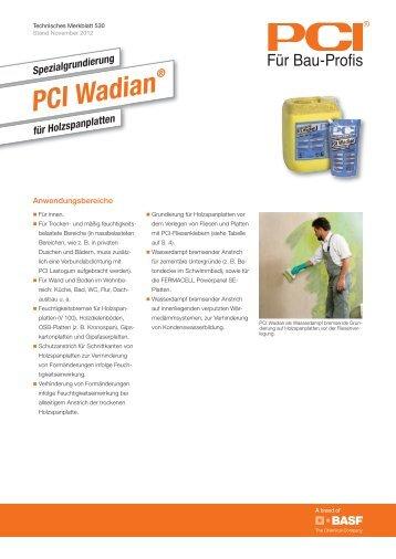 PCI Wadian - PCI-Augsburg GmbH