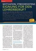 Eignung für dEn LEhrErbEruf? Motivation ... - Universität Kassel - Seite 4